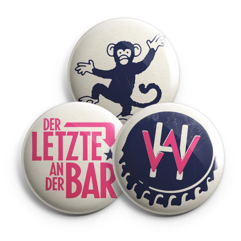 diverse von Henning Wehland - 3er Button Set jetzt im Henning Wehland Shop